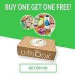 Get BOGO deal on Urthbox Healthy Snacks