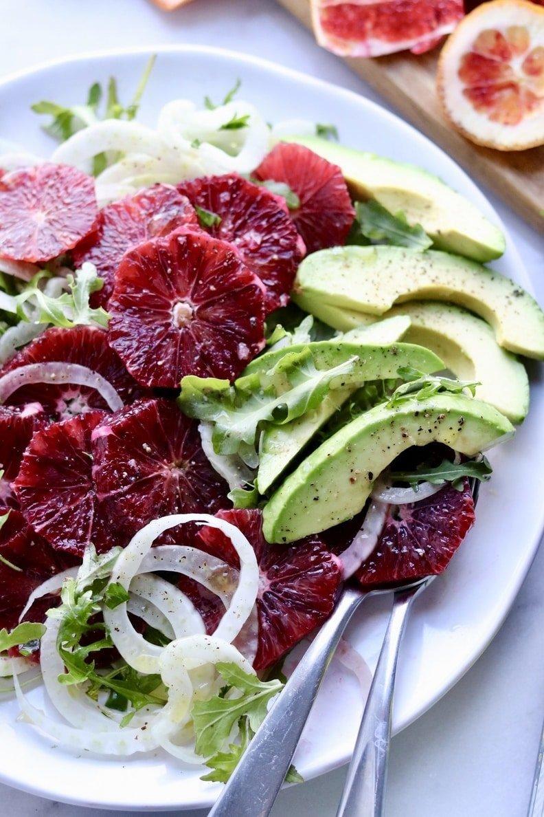 Winter Blood Orange Fennel Salad