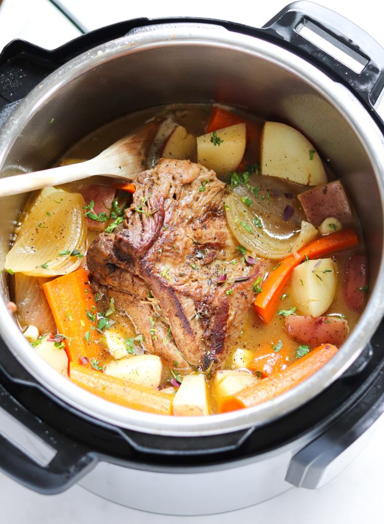 Whole30 Pot Roast (Instant Pot)