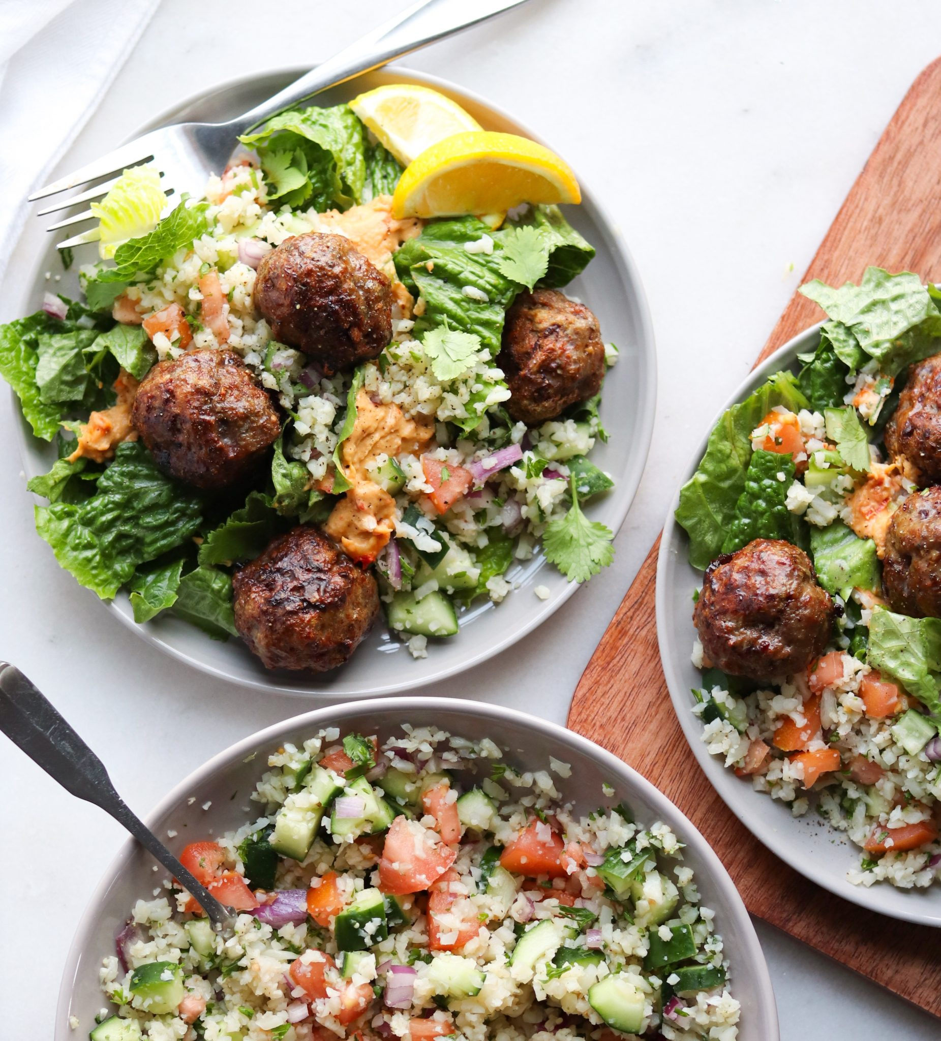 Mediterranean Lamb Meatballs (Whole30) - Cook At Home Mom