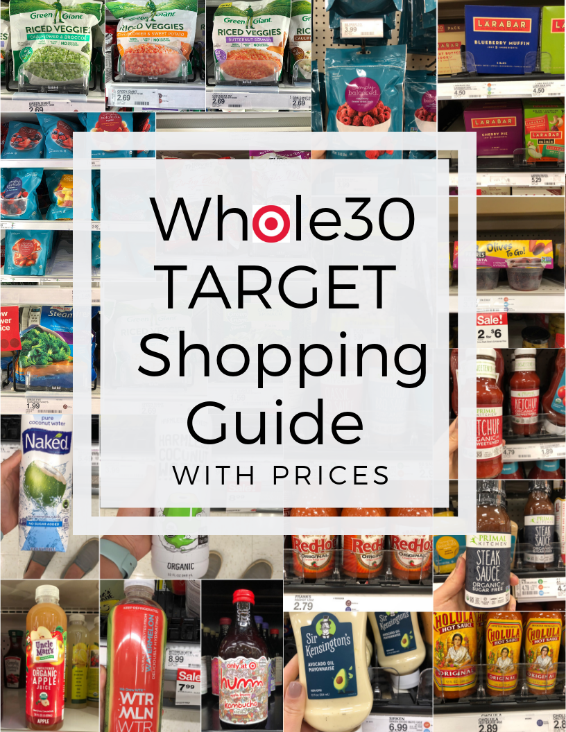 Whole30 Target Grocery List and Guide with Prices - Cook at Home Mom