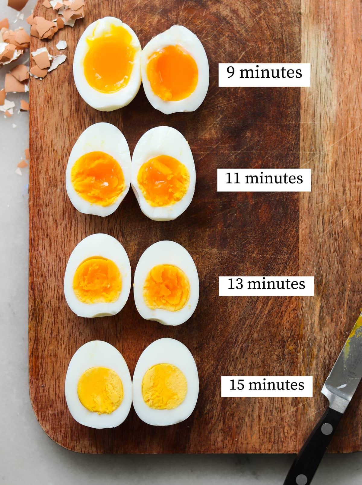 Air Fryer Eggs - Hard or Soft Boiled